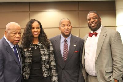 John Lewis, Kimberly Dove, Joe Carn, Marvin Arrington