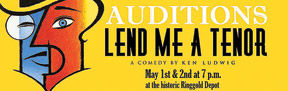 "Auditions for ""Lend Me a Tenor"""