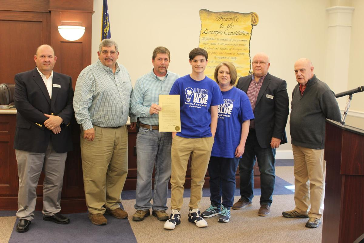Catoosa County proclaims April Autism Awareness Month