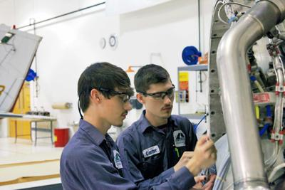 Seeing double: Identical twins graduate from GNTC's Aviation Maintenance program