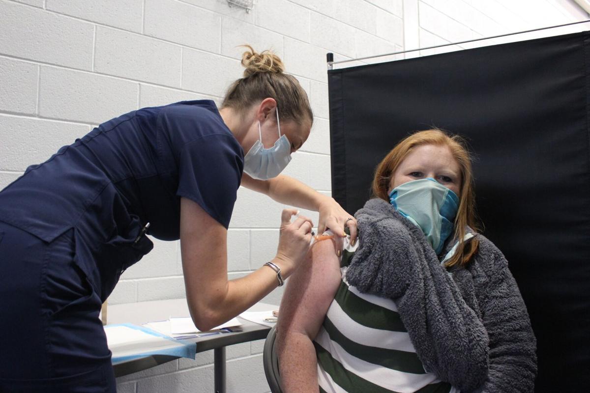 Floyd County Schools teachers, staff receive COVID-19 vaccine