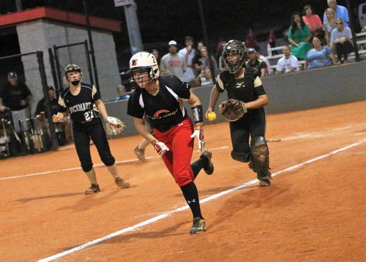 Rockmart vs. Cedartown softball 2019