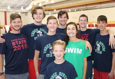 Three Rivers Swim state qualifiers