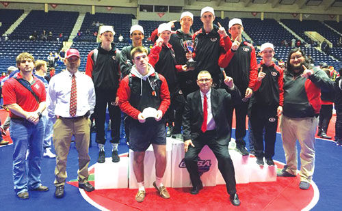 Sonoraville wrestling win team state title