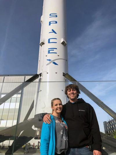 GNTC alum starts work at SpaceX