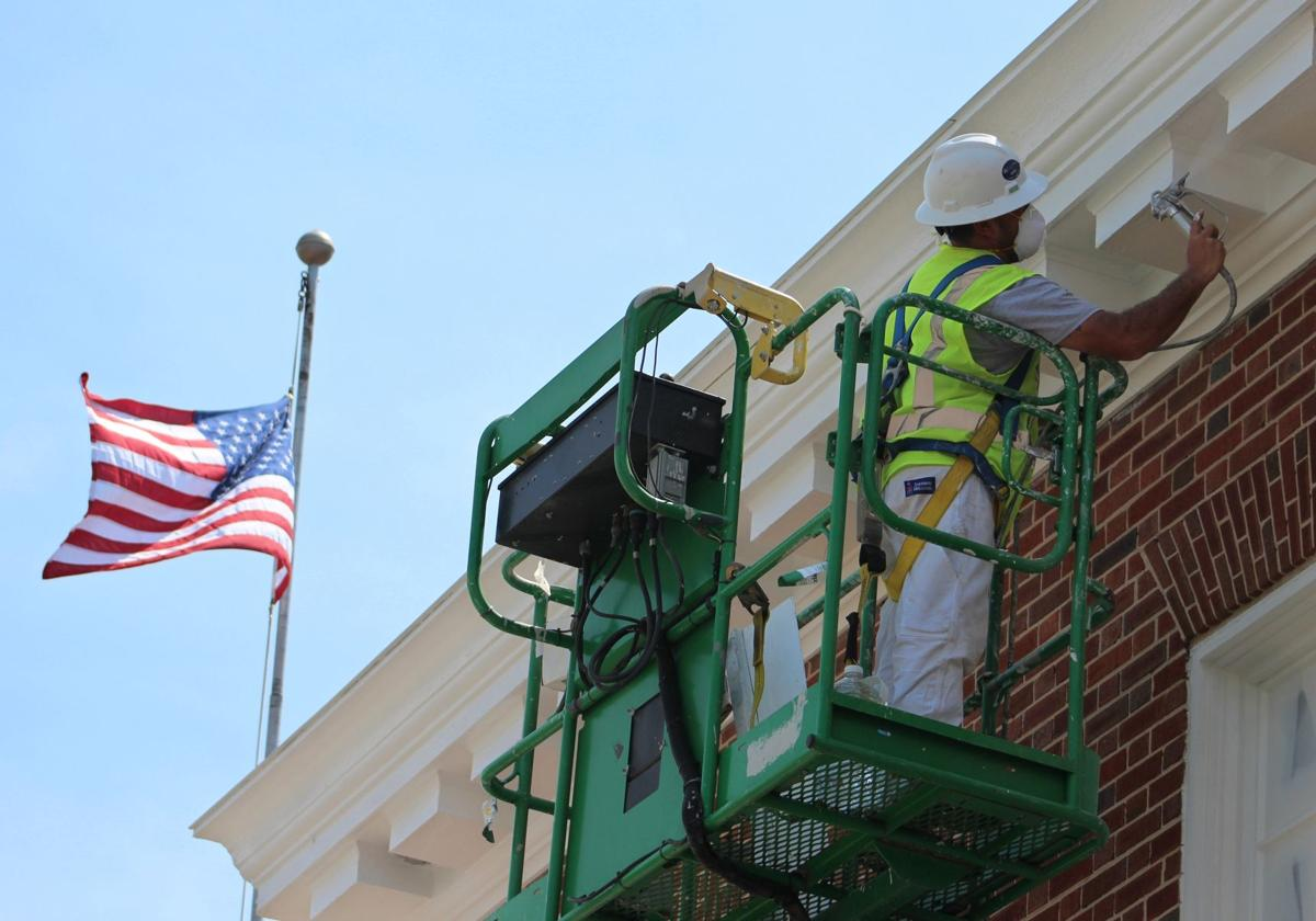 Exterior renovations continue on county court house No. 2