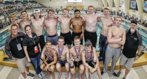 Calhoun boys swimming finishes as state runner-up