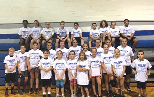 Gordon Central youth preseason basketball clinic