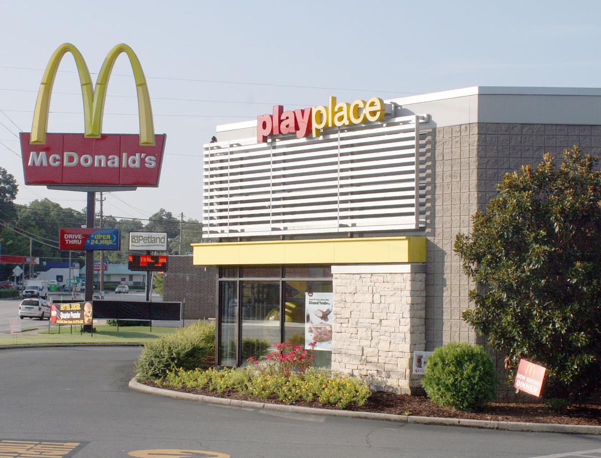 Turner McCall Boulevard McDonald's