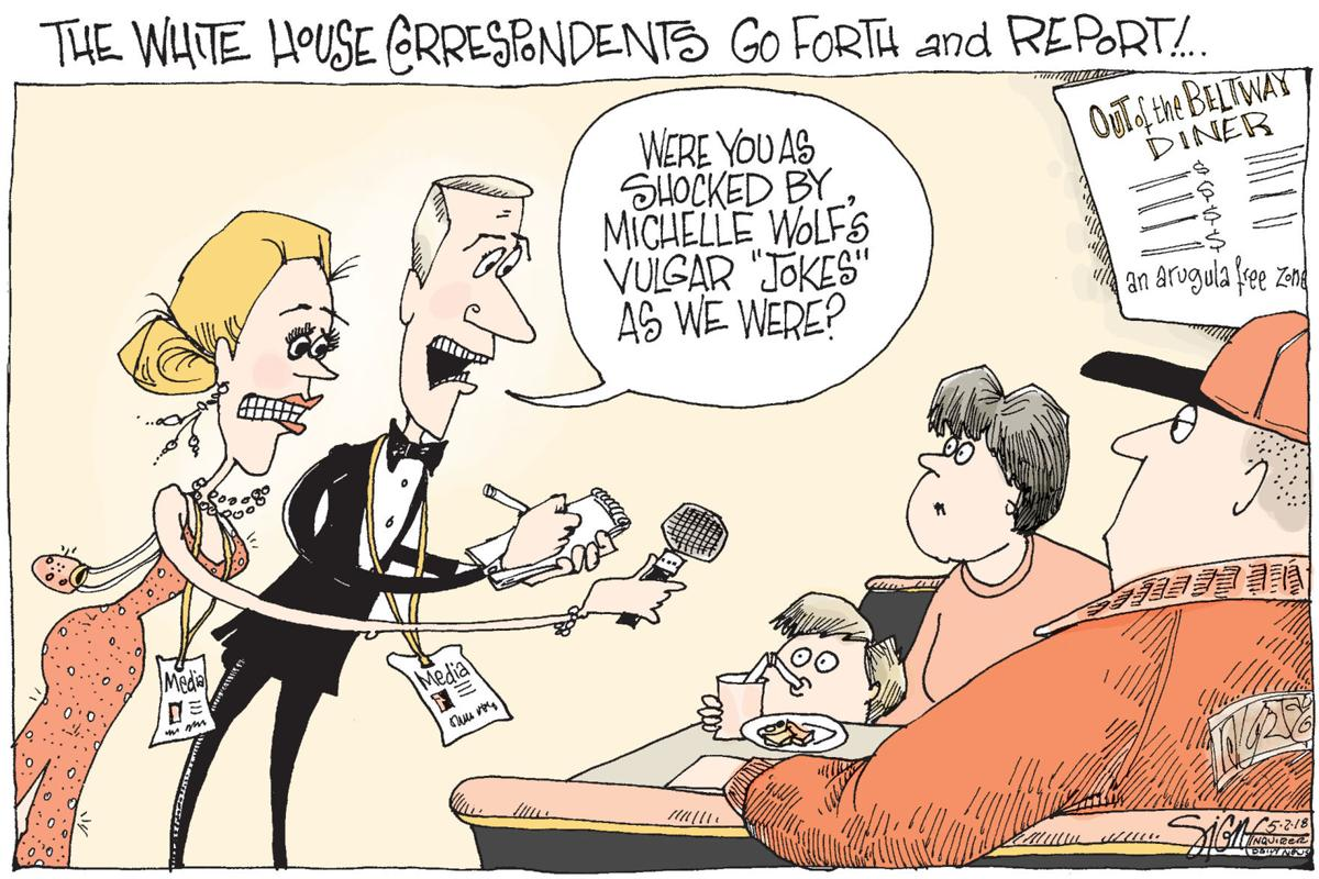 Signe Wilkinson cartoon
