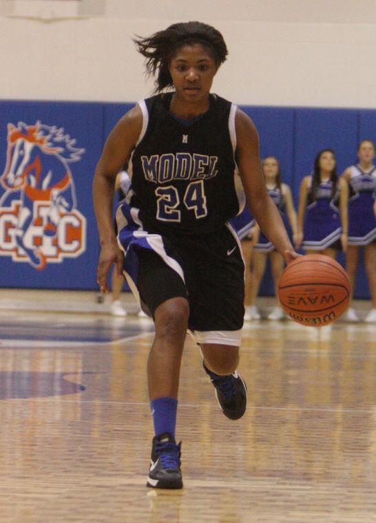 Region 7-AA Basketball: Model Girls v. Dade Co.
