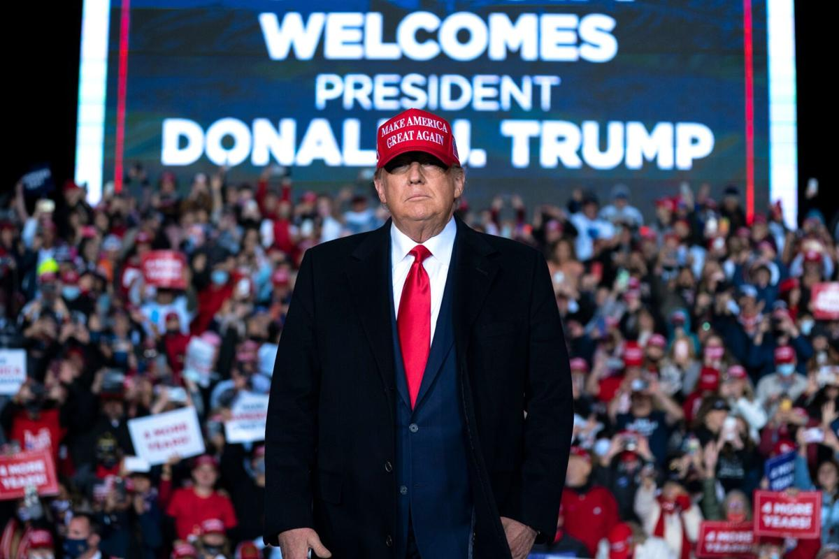 President Donald Trump visits Floyd County