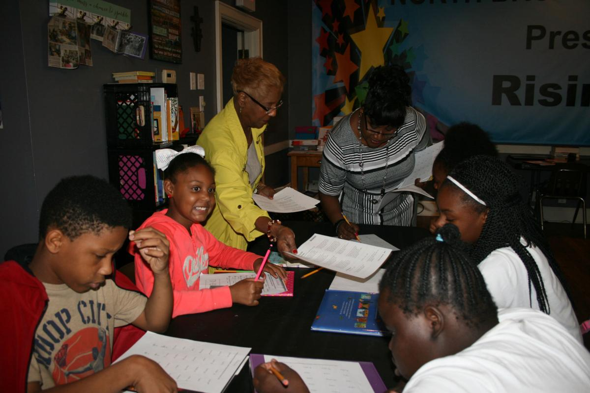 Tutoring at the North Broad Youth Center