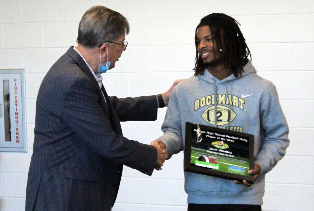Rockmart's Whatley named GHSFD Player of the Week