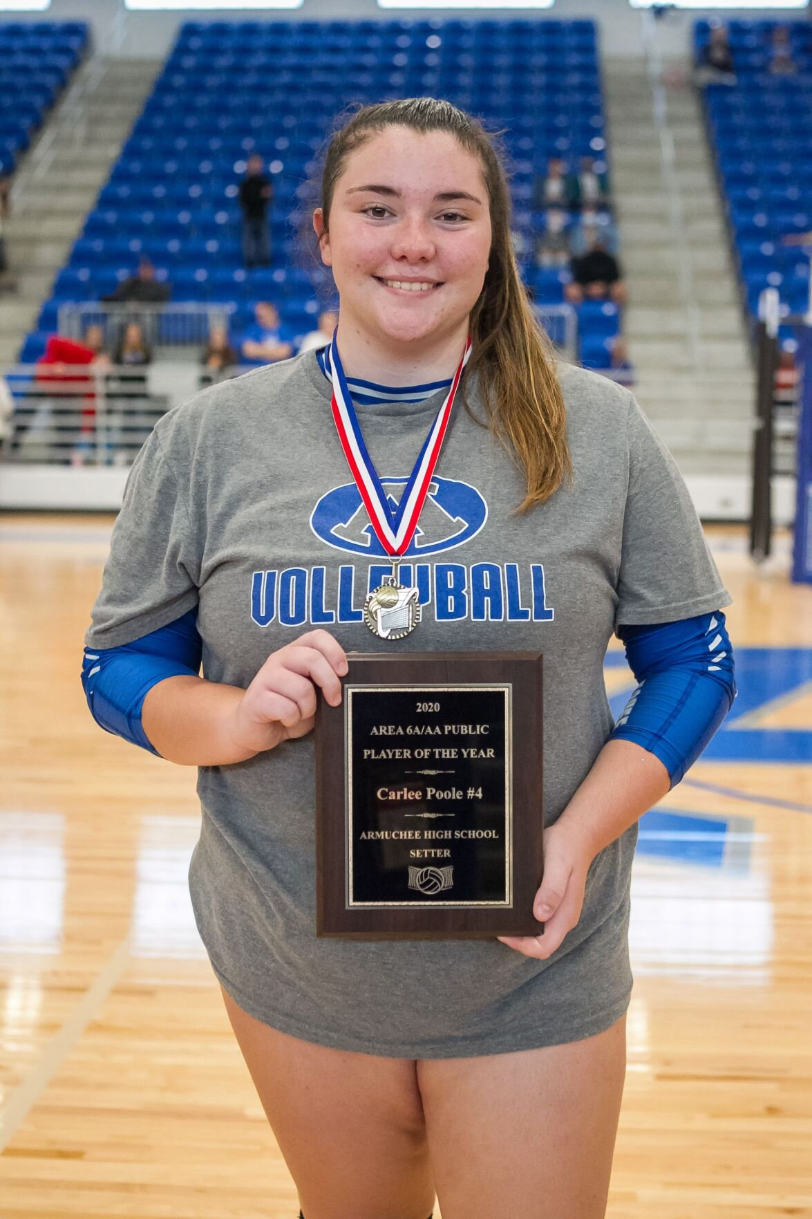 Region player of the year - Carlee Poole