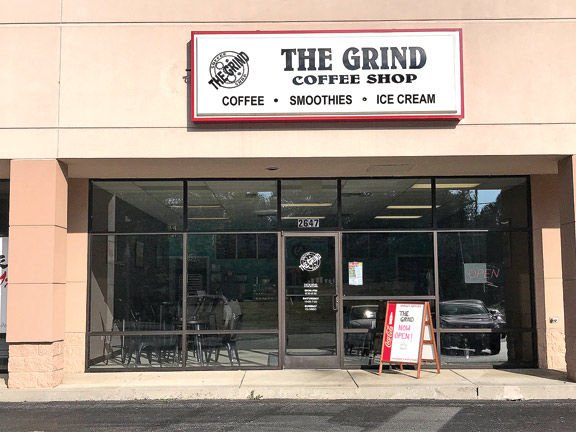 The Grind Coffee Shop in LaFayette