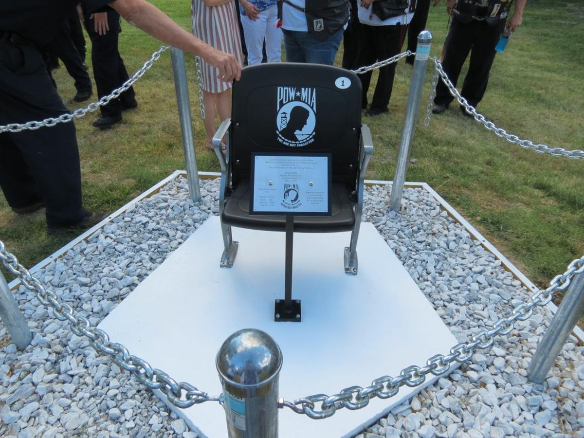 Fort O Honor Park POW/MIA Chair