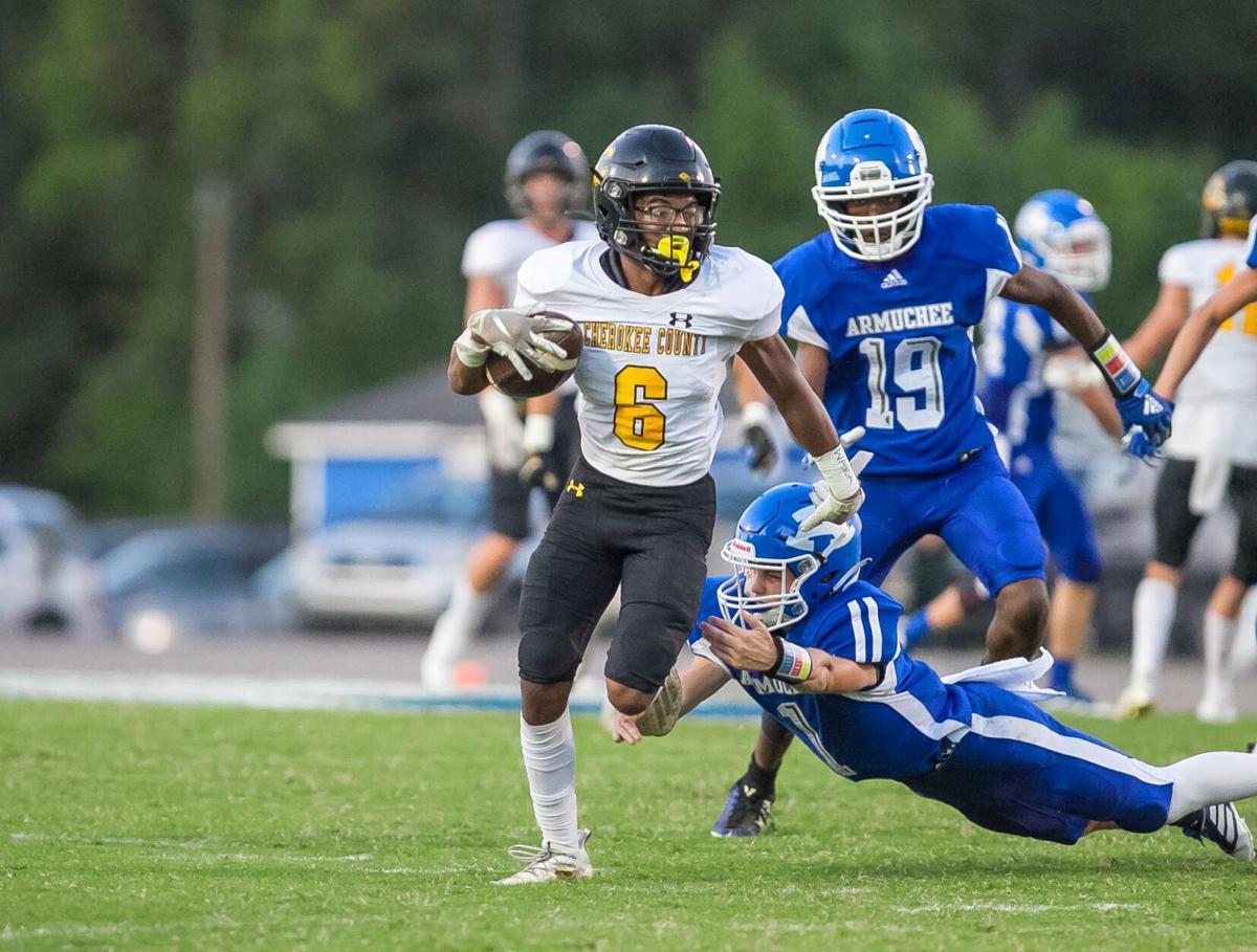Cherokee County vs. Armuchee Football