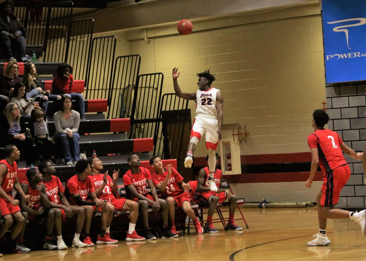 Cedartown boys basketball - Jan. 13, 2018
