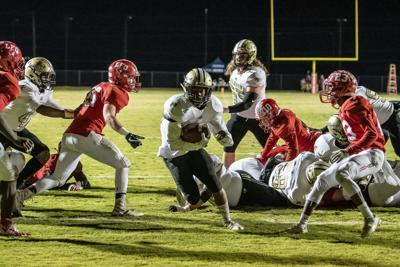 Calhoun Football - Jerrian Hames vs. LFO