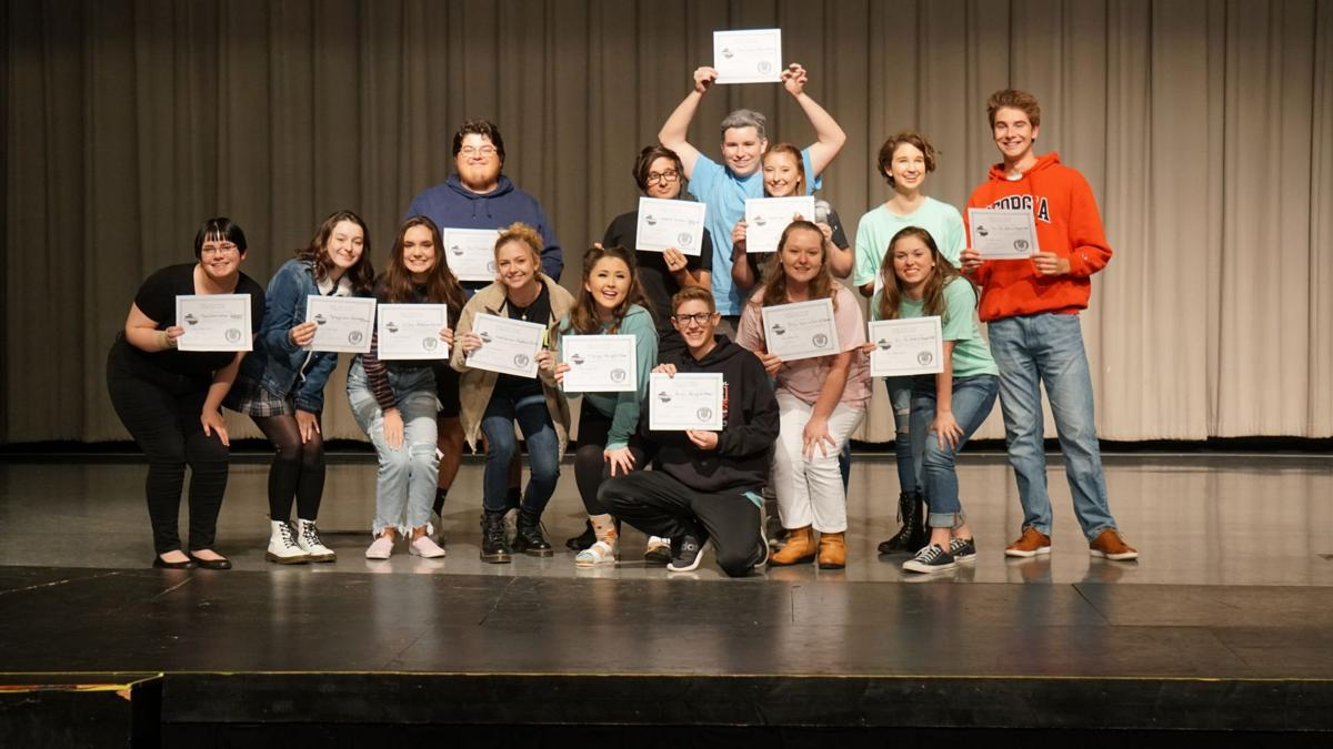 Local schools place in one act play competition