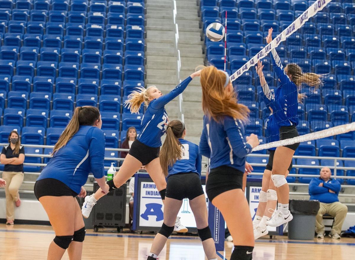 Armuchee Volleyball - Bailey Tomlin vs. Fannin County