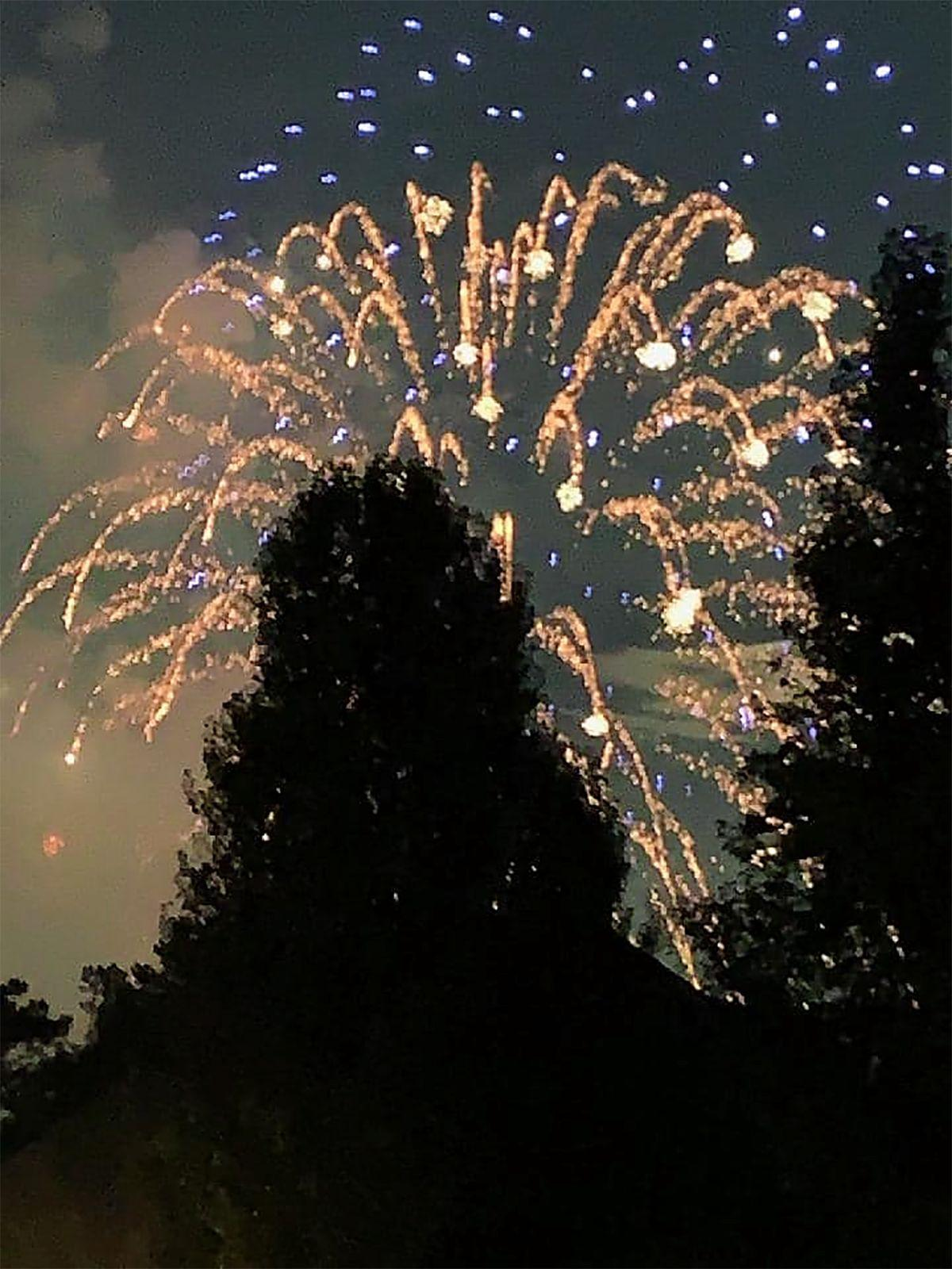 July 4 fireworks Catoosa County