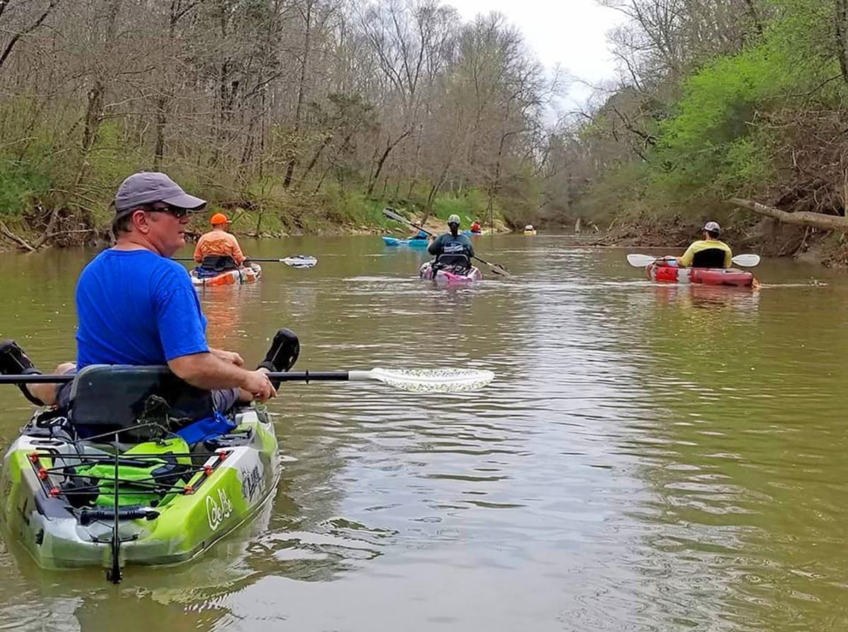 Boaters Chickamauga Creek