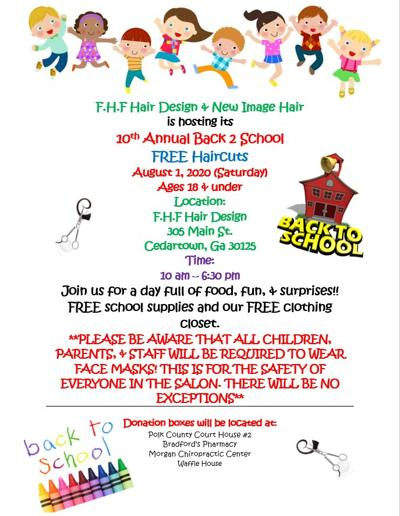 10th annual Free Back to School Haircuts Day