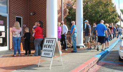 Early voting in Gordon County