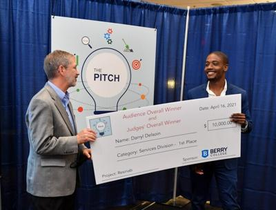 Berry student sweeps PITCH Entrepreneurship competition