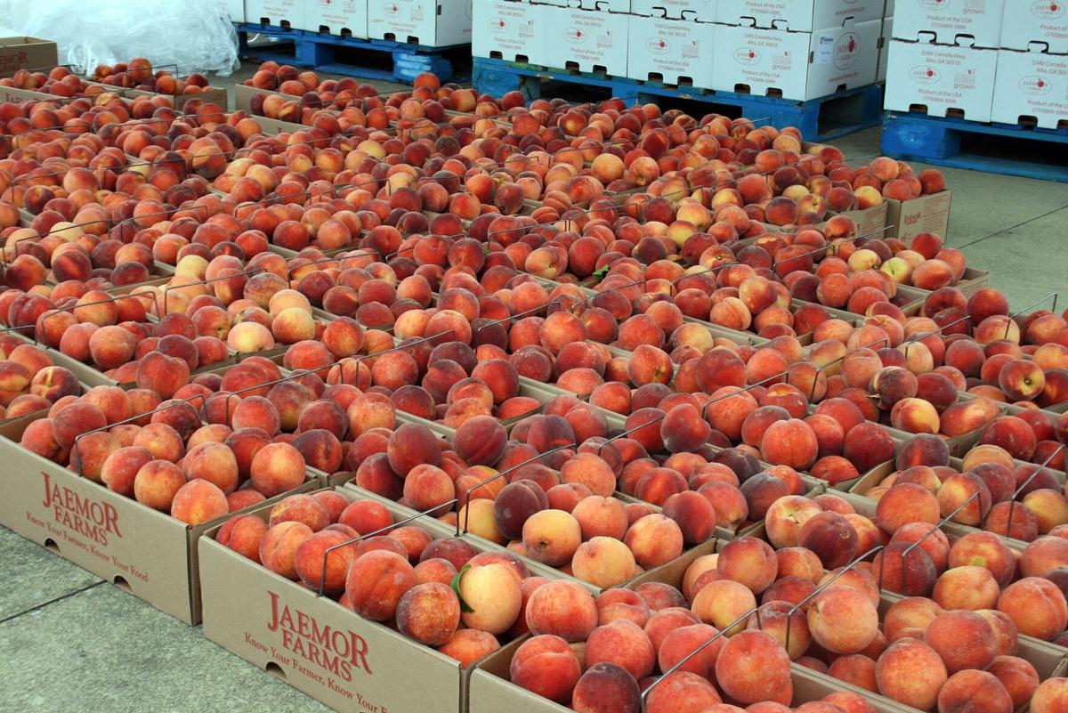 Kiwanis Club hopes to net more than $8,000 for scholarships from annual peach sale
