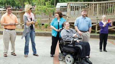 New trail rest stations dedicated, more on the way