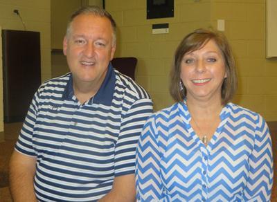 Jim Barrett and Debbie Baker