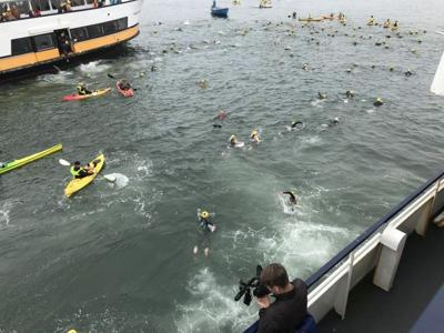 Richard DiBiase Alcatraz-SF Swim
