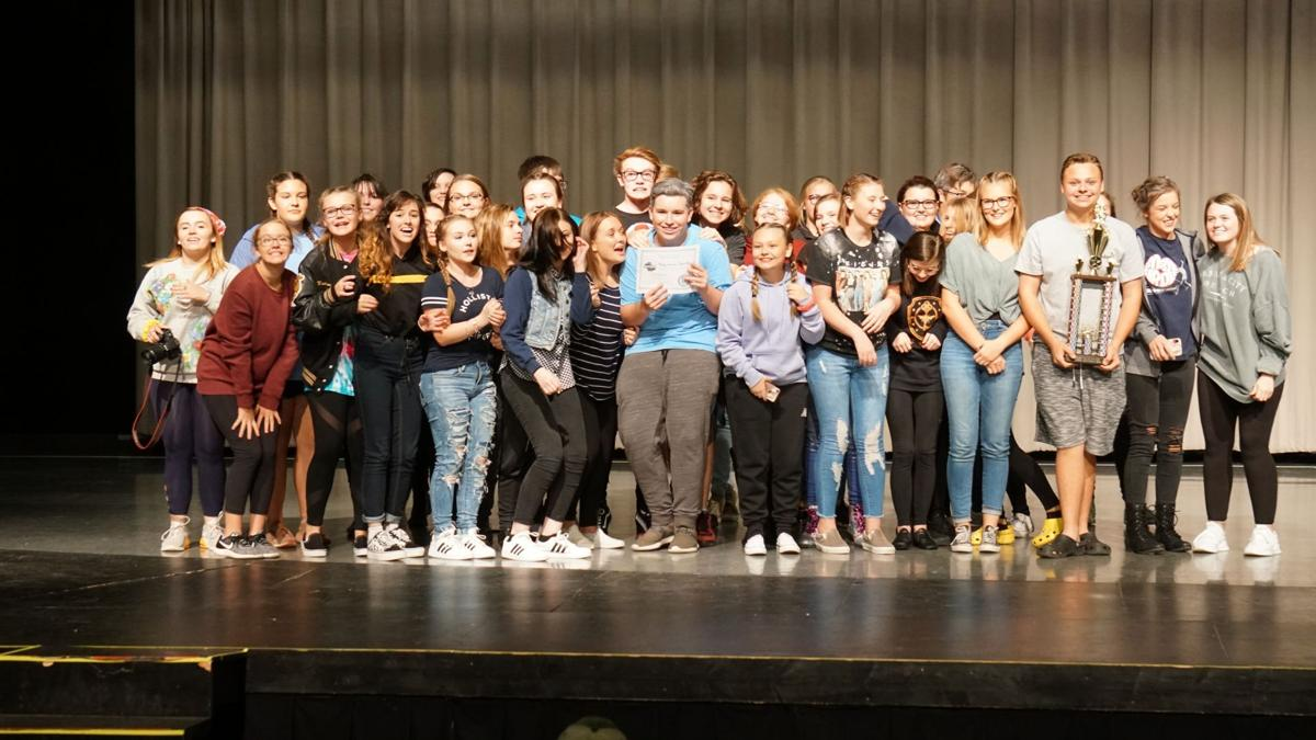 Rockmart High School takes second place one act play competition