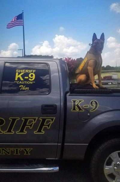 Sheriff's office K9 receives body armor donation