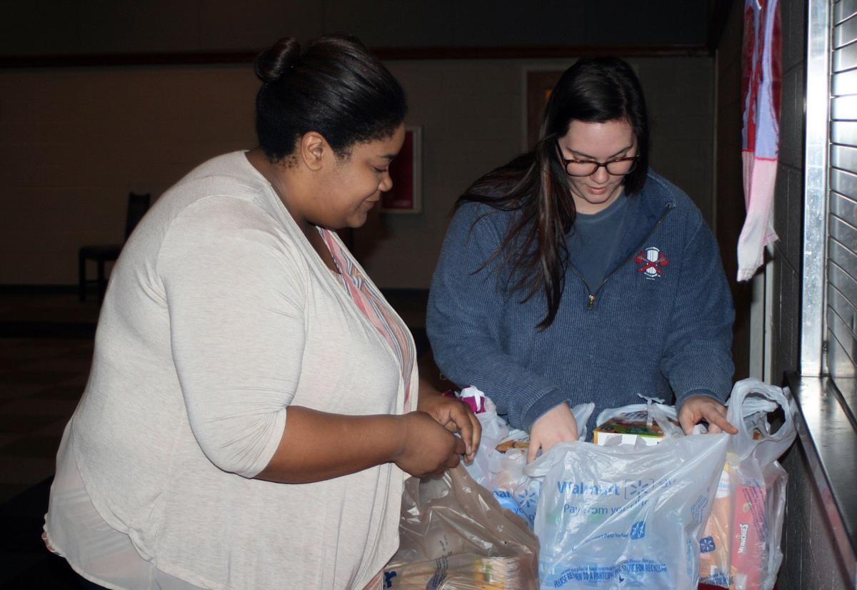 Donations at First United Methodist Church