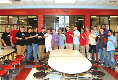 Sonoraville Wrestling receives state championship rings