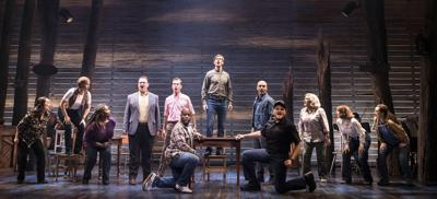 """061919_MNS_Come_from_Away_001 cast of """"Come from Away"""""""