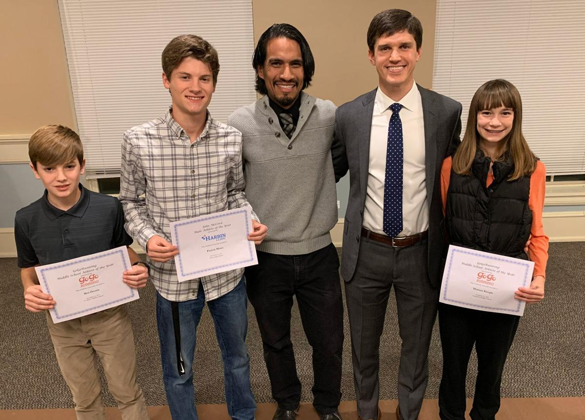 GoGo Running All-Area Cross Country Banquet