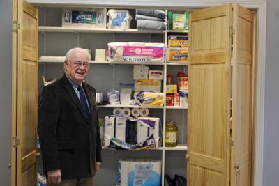 Inside the William S. Davies homeless shelter