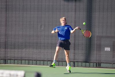 Armuchee's Darby Hopper vs. Model tennis
