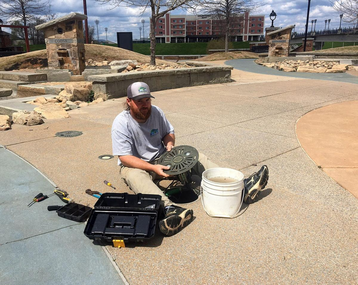 Town Green fountain to reopen April 2