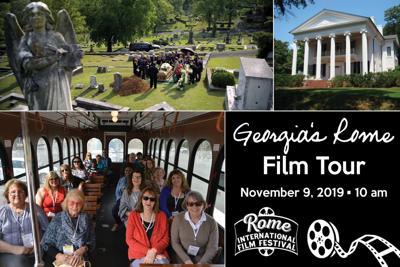 Georgia's Rome Film Tour tickets now on sale