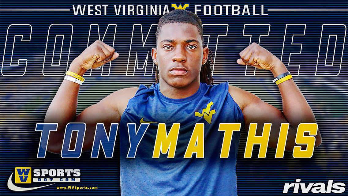Tony Mathis to West Virginia