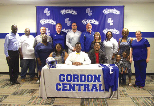 Gordon Central's Dixon signs with Methodist University