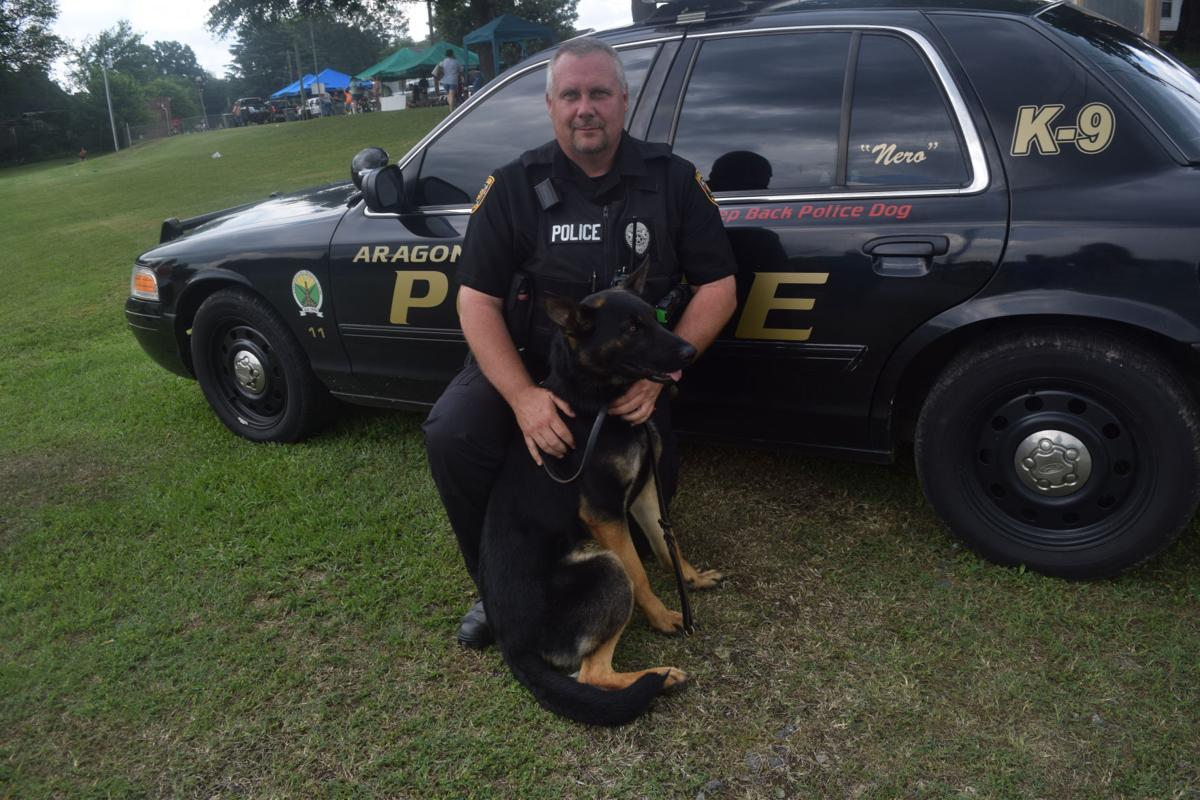 Sgt. Gene Brown and Nero