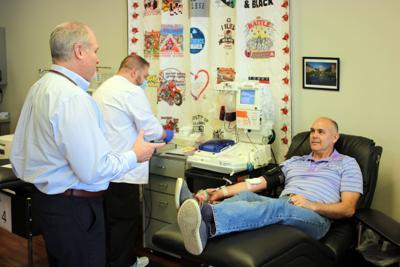State Senator Donates Plasma