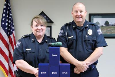 County police receive donation of new forward looking infra-red cameras